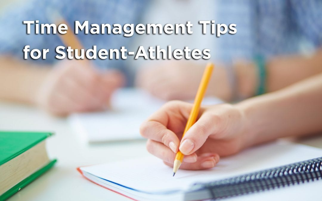 Time Management Tips for Student-Athletes