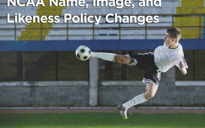 NCAA Name, Image, and Likeness Policy Changes